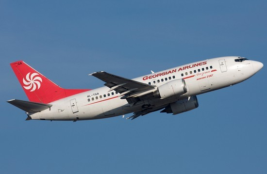 самолет Georgian Airways